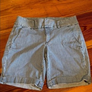 Jcrew Andre striped shorts